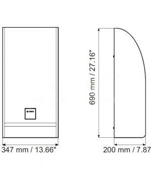 Loa siêu trầm 60W Bosch LB1-SW60